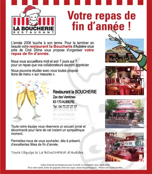 newsletter La Boucherie